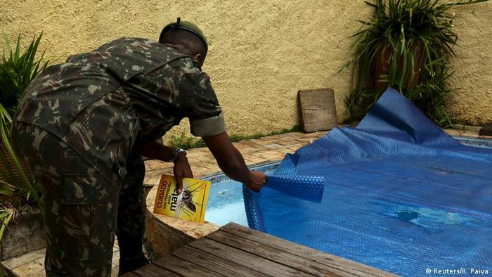 Brasilien Bekämpfung Zika Virus