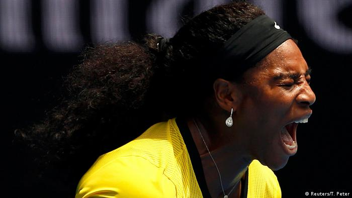 Australian Open Serena Williams in Melbourne Park