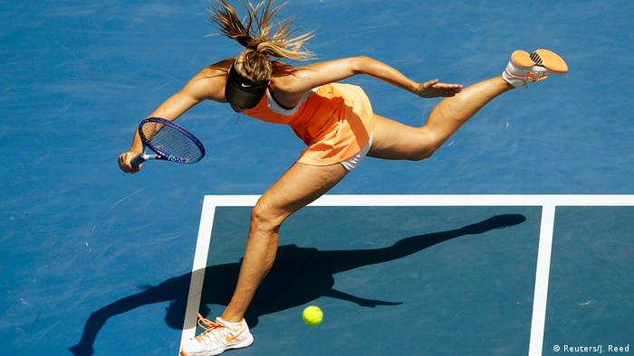 Australian Open Maria Sharapova in Melbourne Park