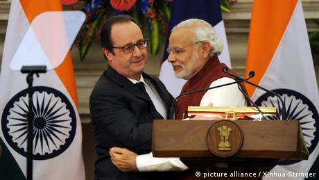Indien feiert Tag der Republik mit Francois Hollande (picture alliance / Xinhua-Stringer)