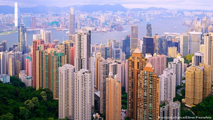 China Stadtansicht Hongkong