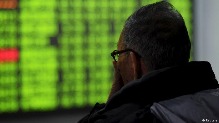 China Kursrutsch an den Börsen (Reuters)