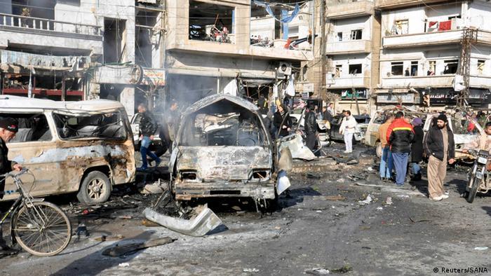 Syrien Anschlag in Homs