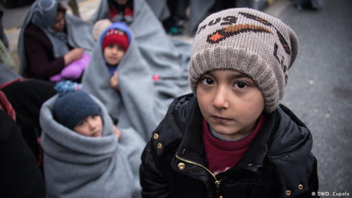 Bildergalerie Flüchtlinge an griechischen Tankstellen