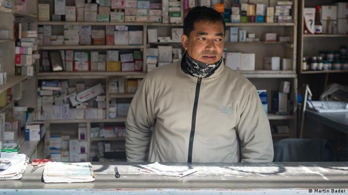 a man in his shop copyright: Sophie Cousins