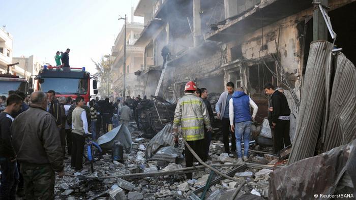 Наслідки ударів з повітря у Сирії