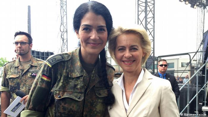 Bundeswehr-Soldatin Nariman Reinke (Nariman Reinke)