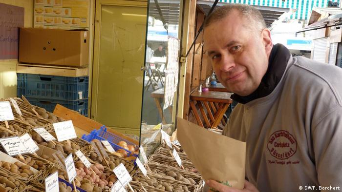 Michael Leers sa svojim egzotičnim sortama krumpira
