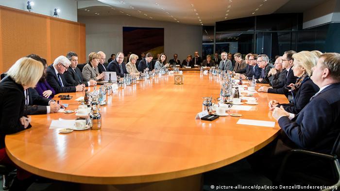 Deutschland Berlin Bundeskabinett