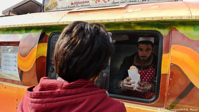 Afghanistan Kabul Lazeez Food Truck