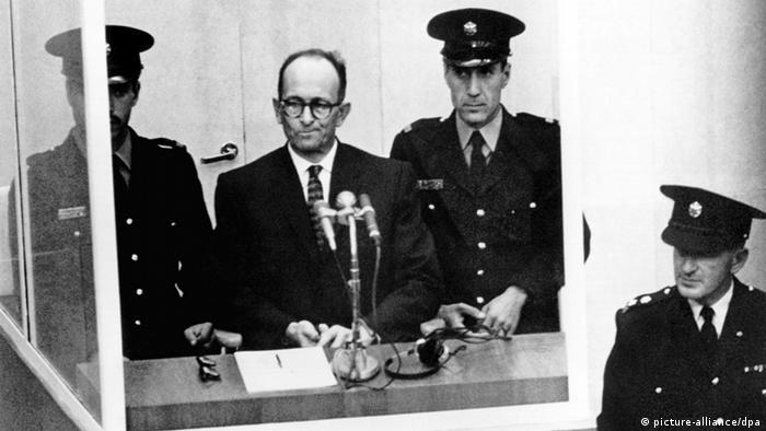 Israel releases Nazi Eichmann′s plea for clemency | News | DW | 27.01.2016