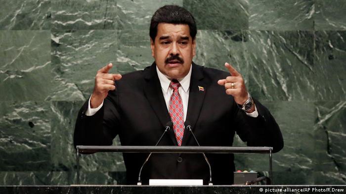 委内瑞拉爆发百万人大示威