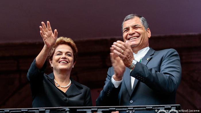 Aliados latino-americanos saem em defesa de Dilma
