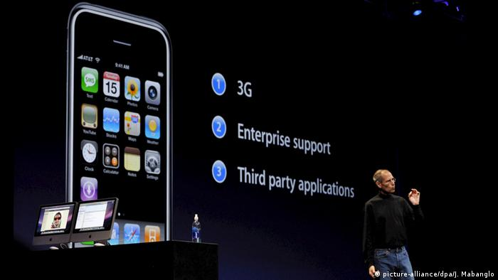 San Francisco Apple 3G iPhone Präsentation Steve Jobs