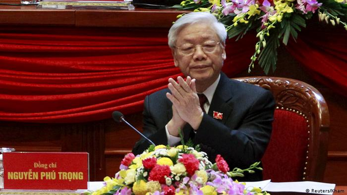 Vietnam's General Secretary of the Communist Party Nguyen Phu Trong