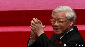 El jefe del Partido Comunista de Vietnam, Nguyen Phu Tron.