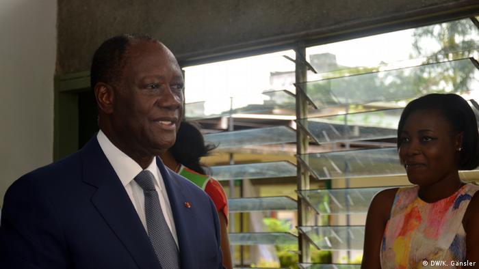 Elfenbeinküste Alassane Ouattara politischer Rivale von Laurent Gbagbo