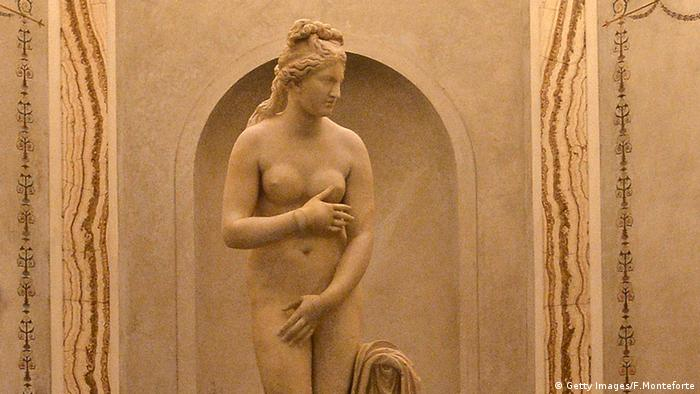 Italy covers museum nudes for Iranian president