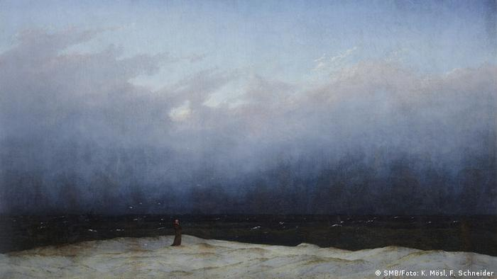 Caspar David Friedrich, Mönch am Meer