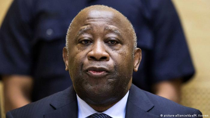 Laurent Gbagbo vor dem IStGH (Foto: picture alliance)