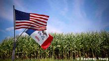 US Wahlen Symbolbild Flaggen