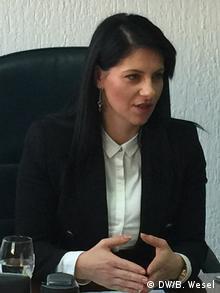 Alesandrija Iliesku, Staatssekretärin Innenministerium Mazedonien