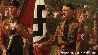 Adolf Hitler Flagge Hakenkreuz