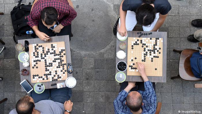 Asien Brettspiel Go
