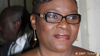 Guinea-Bissau Odete Costa Semedo, Bildungsministerin (DW/F. Tchumá)