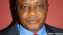 Botche Candé ist ein Politiker aus Guinea-Bissau. Im Jahr 2014 war er bis zu seiner Entlassung durch den Präsidenten Innenminister des Landes. Fotografin: Fátima Tchumá (DW), 4. Juli 2014 Ort: Bissau, Guinea-Bissau © DW/F. Tchumá