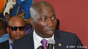 Guinea-Bissau Domingos Simões Pereira, Vorsitzender PAIGC (DW/F. Tchumá)