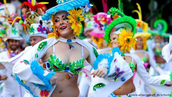 Kanarische Inseln Karneval in Santa Cruz