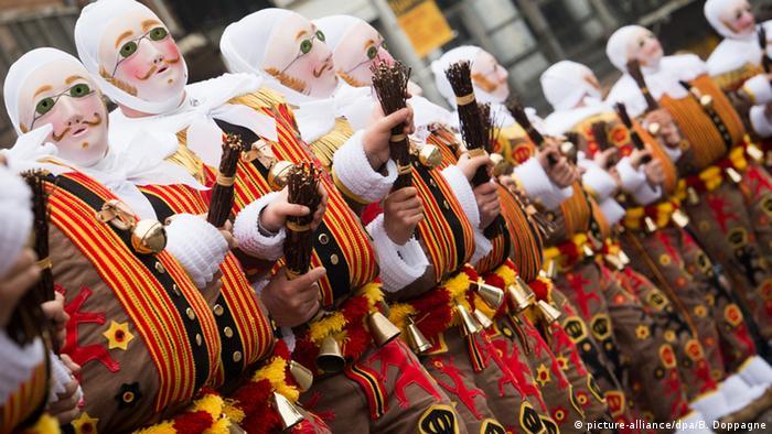 Belgien Karneval in Binche
