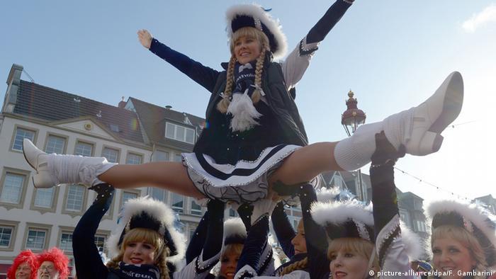 Deutschland Karneval in Düsseldorf