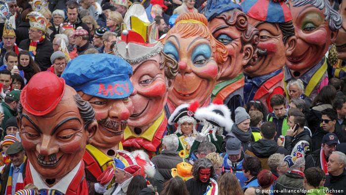 Deutschland Karneval in Mainz