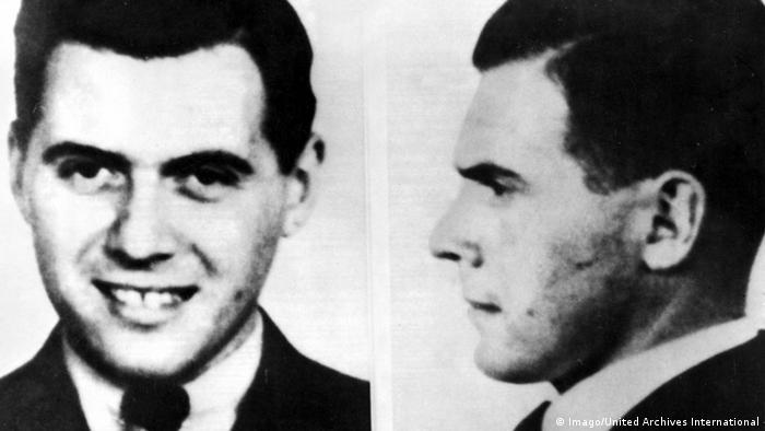 El doctor de las SS Josef Mengele llevó a cabo crueles experimentos en Auschwitz. Nunca fue capturado como criminal de guerra nazi. (Imago/United Archives International)