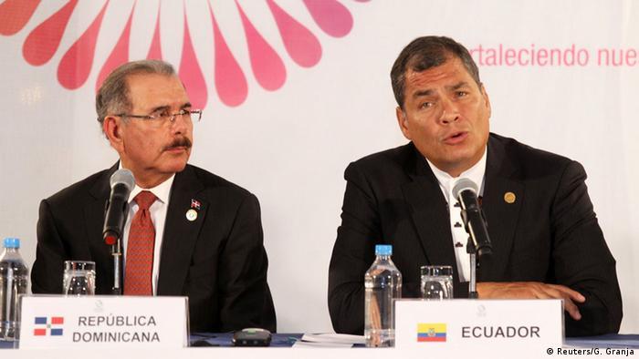 Ecuador Gipfeltreffen des lateinamerikanischen Staatenbundes Celac in Quito