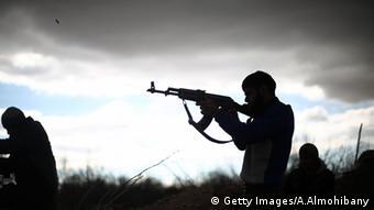 Боевики-исламисты в Сирии