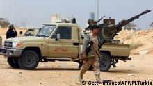 Libyen Kämpfer GNC gegen IS