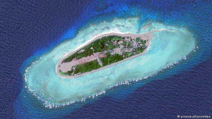 Spratly Inseln südliches chinesisches Meer (picture-alliance/dpa)