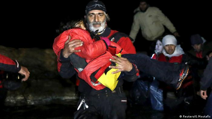 З початку року на острів Хіос з турецького узбережжя прибули близько 44 тисячі біженців