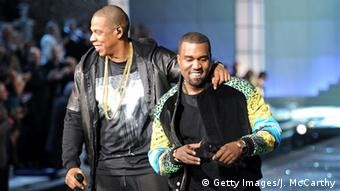 Kanye West und Jay-Z in 2011, Copyright: Getty Images/J. McCarthy