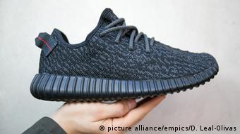 Kanye West Adidas Yeezy Boost 350 trainers, Copyright: picture alliance/empics/D. Leal-Olivas