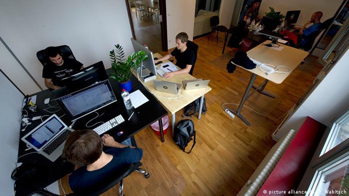 Deutschland Internet-Startup 6Wunderkinder (picture alliance/dpa/E. Wabitsch)