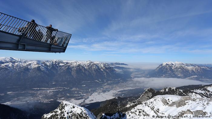 Deutschland Alpspix bei Garmisch-Partenkirchen (picture-alliance/dpa/K.-J. Hildenbrand)
