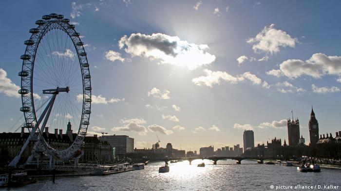 Londres e roda gigante