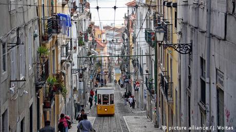 Portugal - Ascensor da Bica in Lissabon
