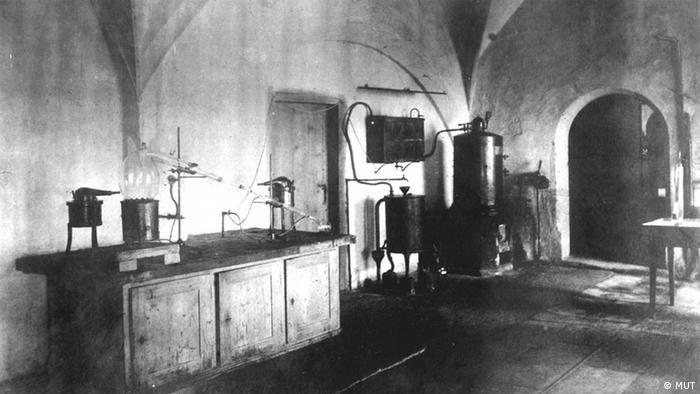 Фото лаборатории 1879 года