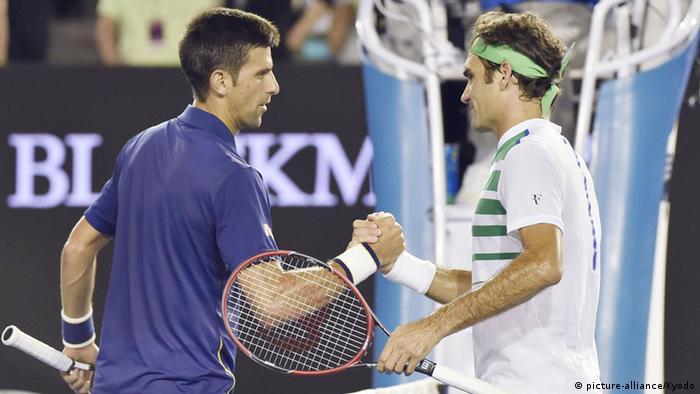 Australian Open Djokovic Finale Federer
