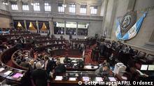 Guatemala Parlament Kongresssitzung